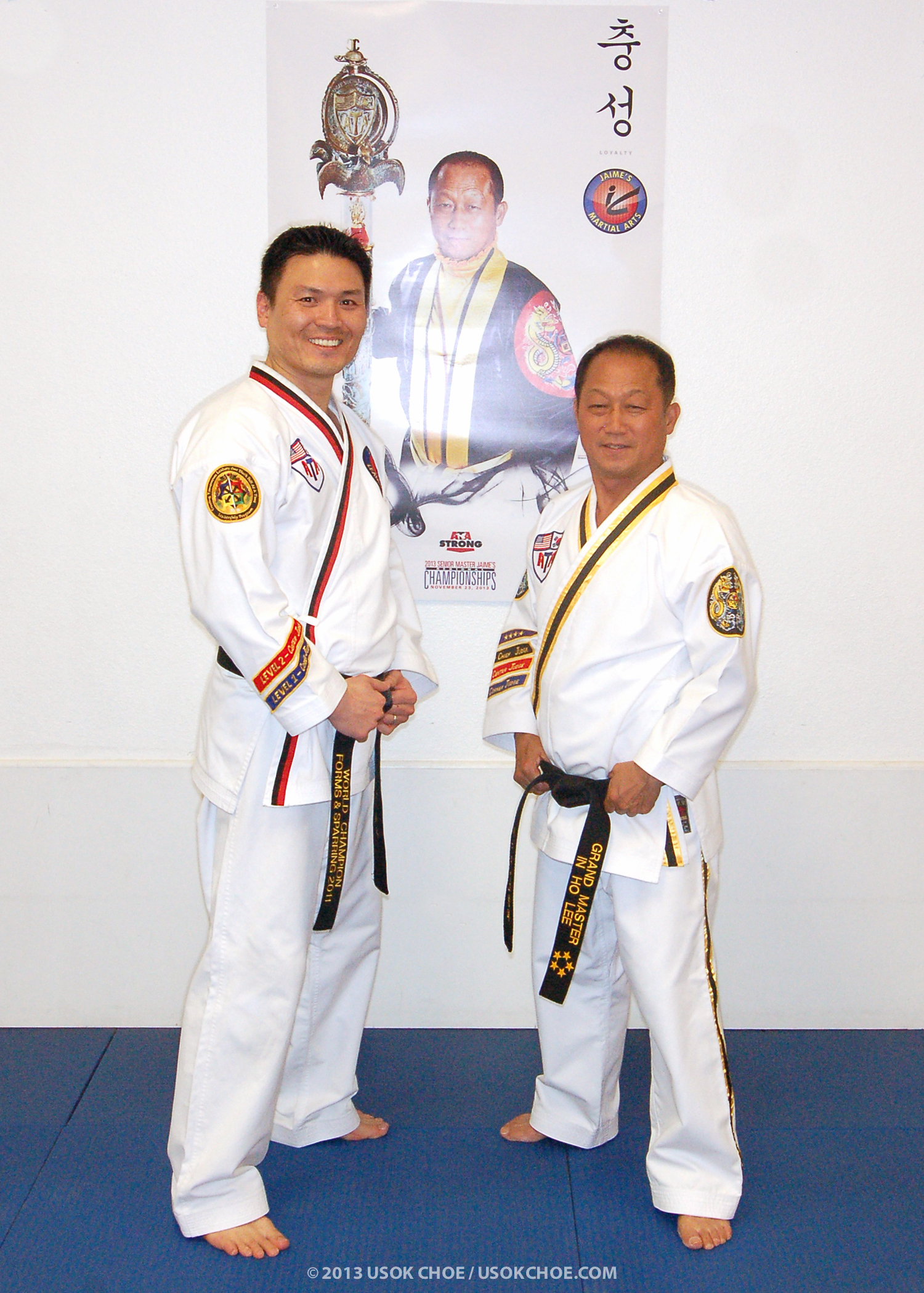 2013.11.21 WITH GRAND MASTER IN HO LEE